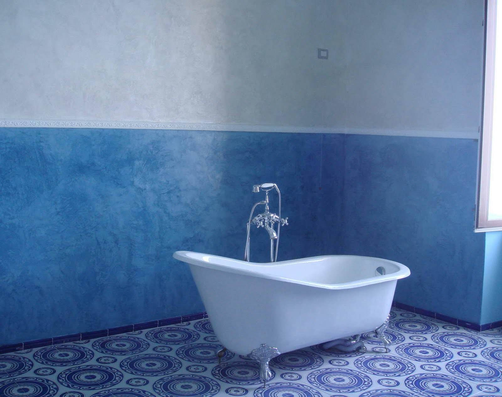 Покраска стен в ванны своими руками с
