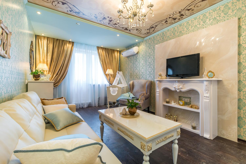 Дизайн интерьера комнаты 20 кв.м фото с двумя зонами