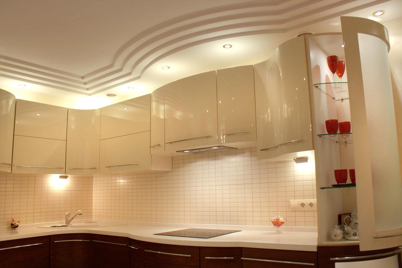 Своими руками потолок на кухню