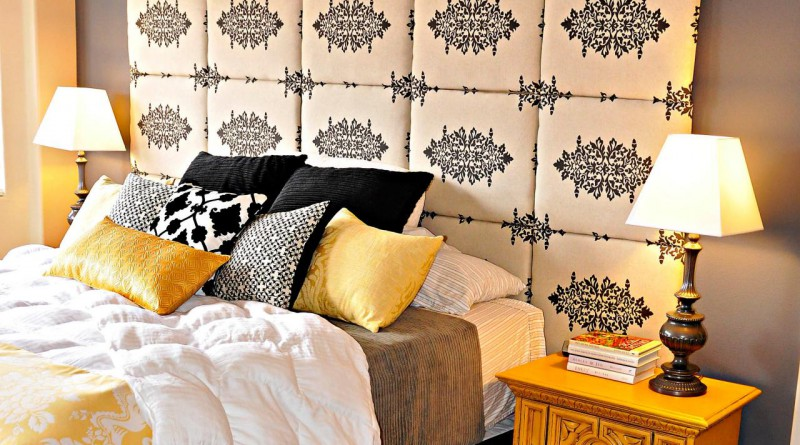 3 простых способа изготовления мягкого изголовья кровати