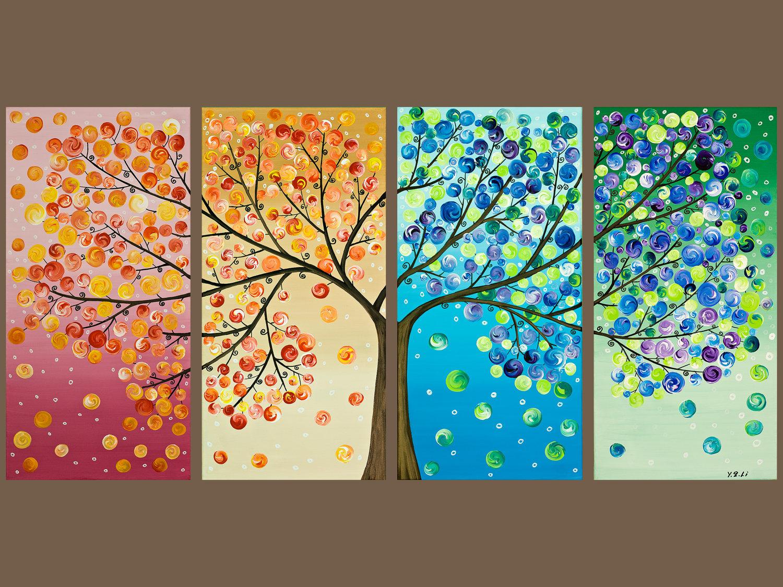 Дерево время года своими руками
