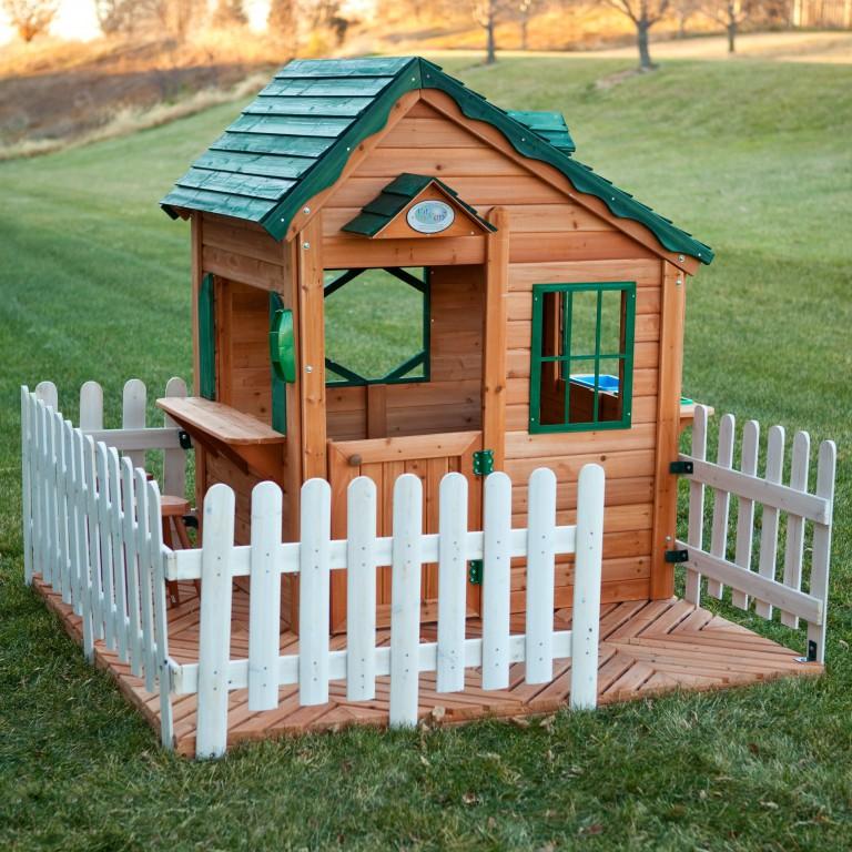 Домик детский деревянный своими руками на даче фото
