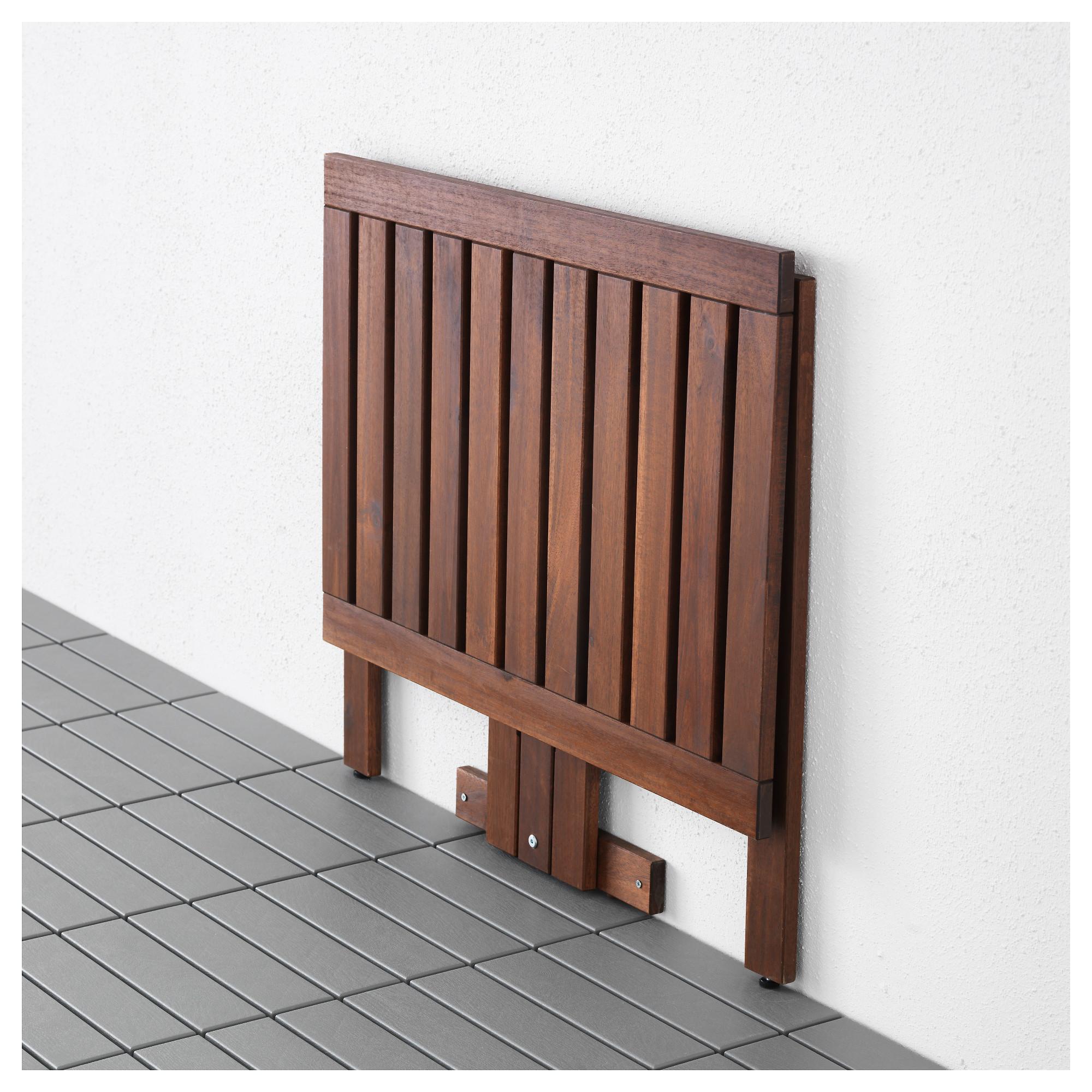 Компактный откидной столик на балкон своими руками.