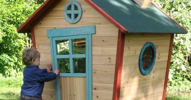 деревянный домик своими руками