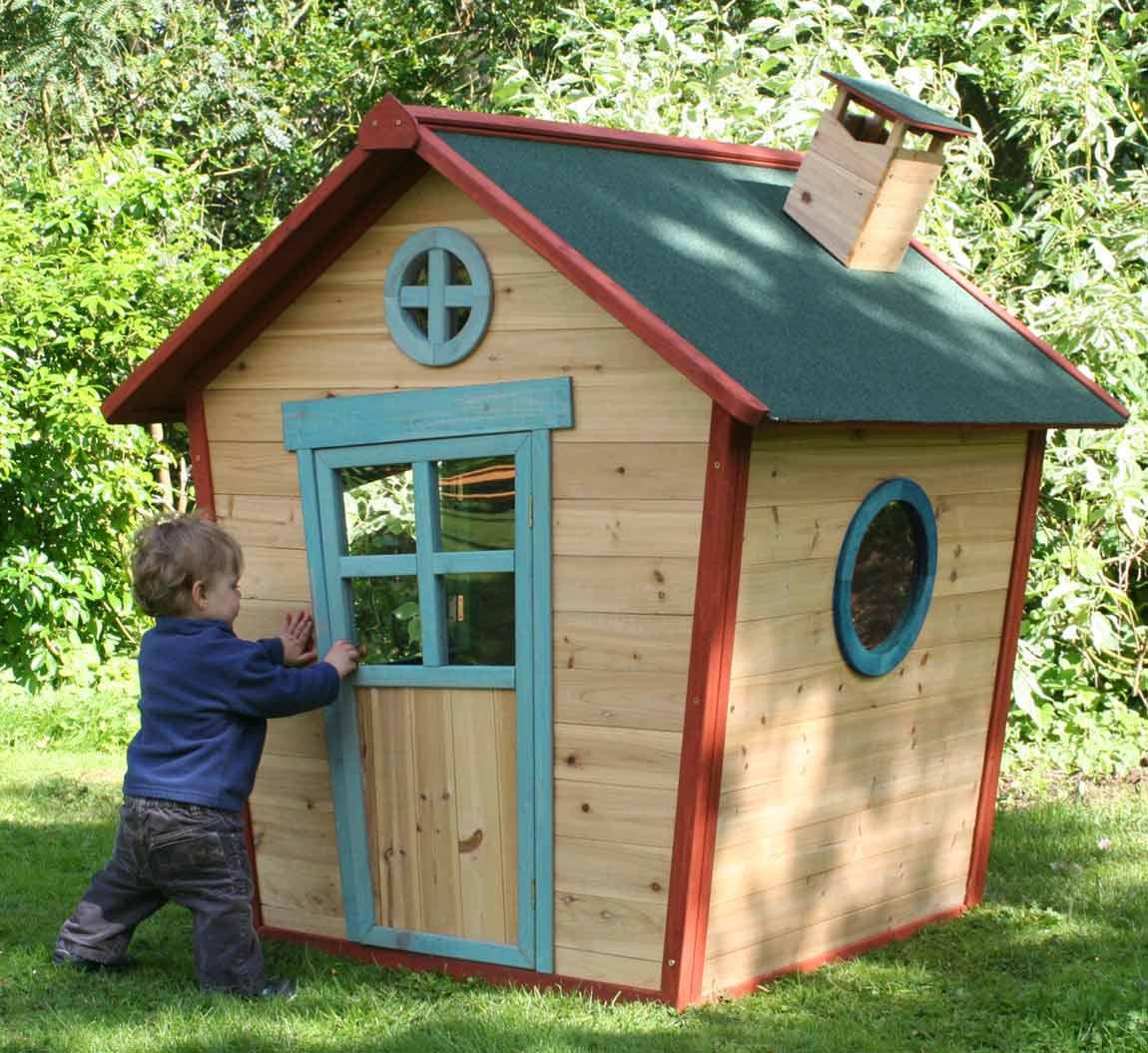 Деревянный домик для ребёнка своими руками