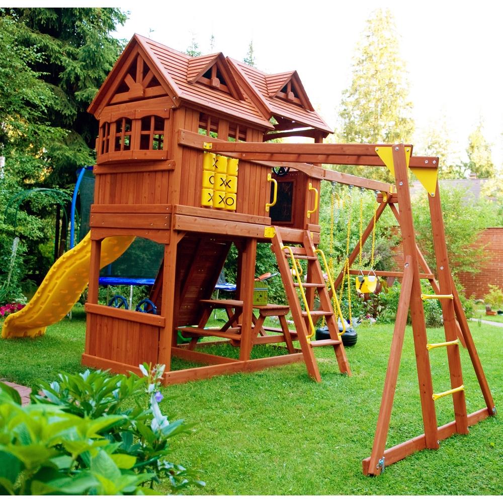 Игровой уличный домик для детей своими руками 52