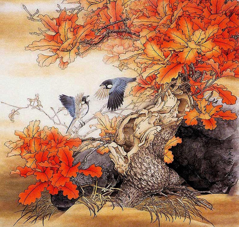497Картина в китайском стиле