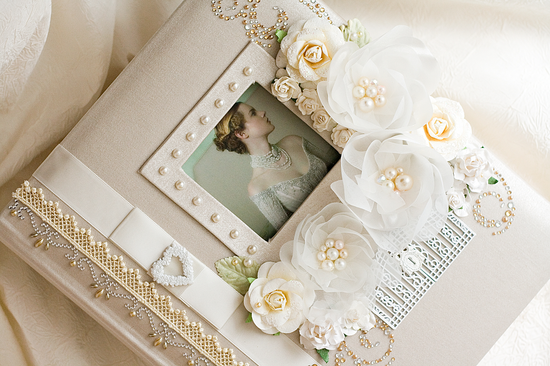 Фотоальбомы свадебные своими руками
