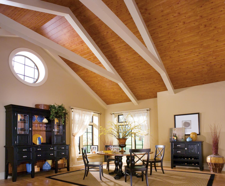 Как сделать потолок в одноэтажном доме