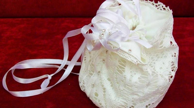 Свадебная сумочка своими руками с