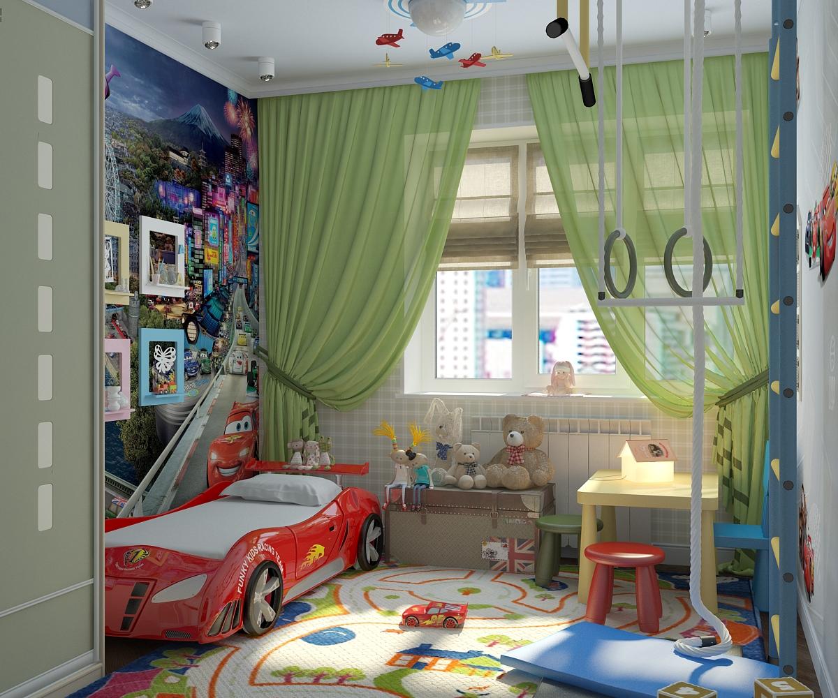 ремонт для детской комнаты мальчика фото