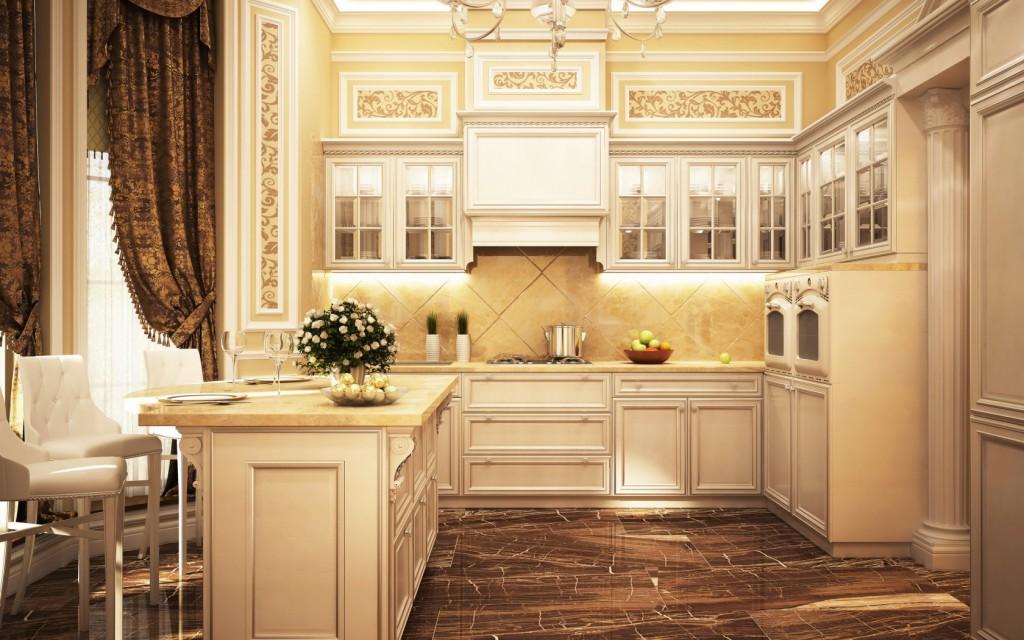 Фото дизайн по кухням классика