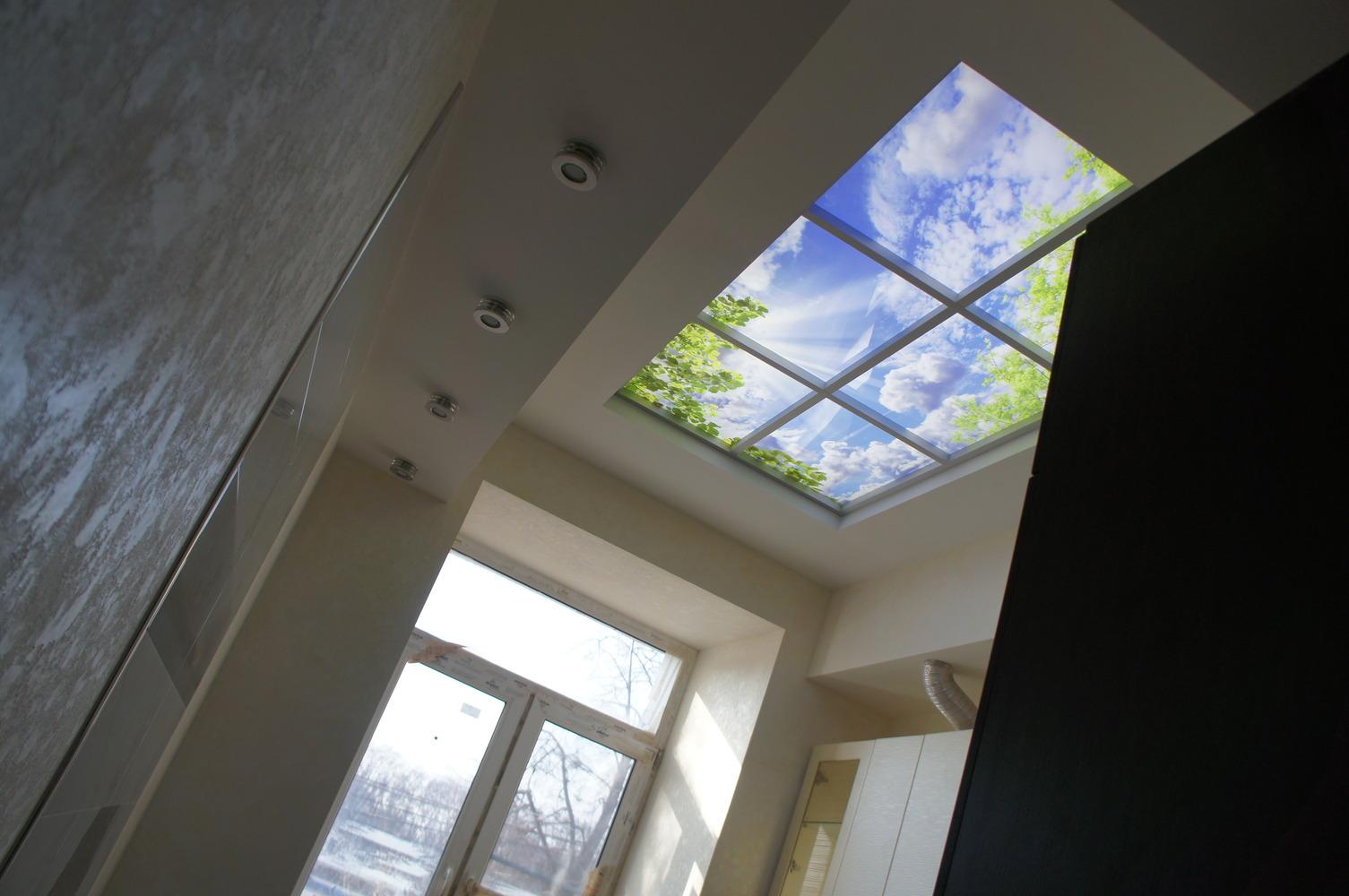 Световое окно своими руками
