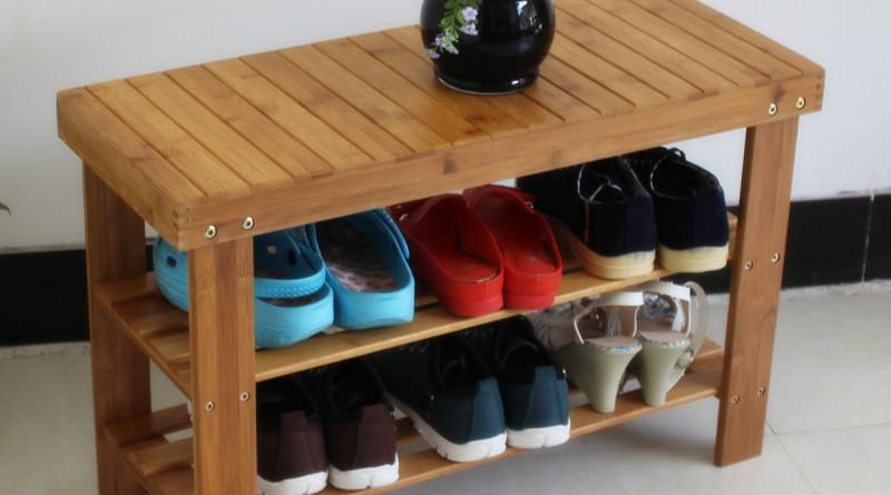 Деревянная этажерка для обуви своими руками 87