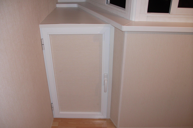 Шкаф на заказ на балкон серии п44т..