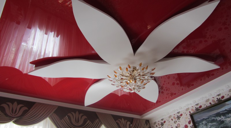 дизайн подвесных потолков
