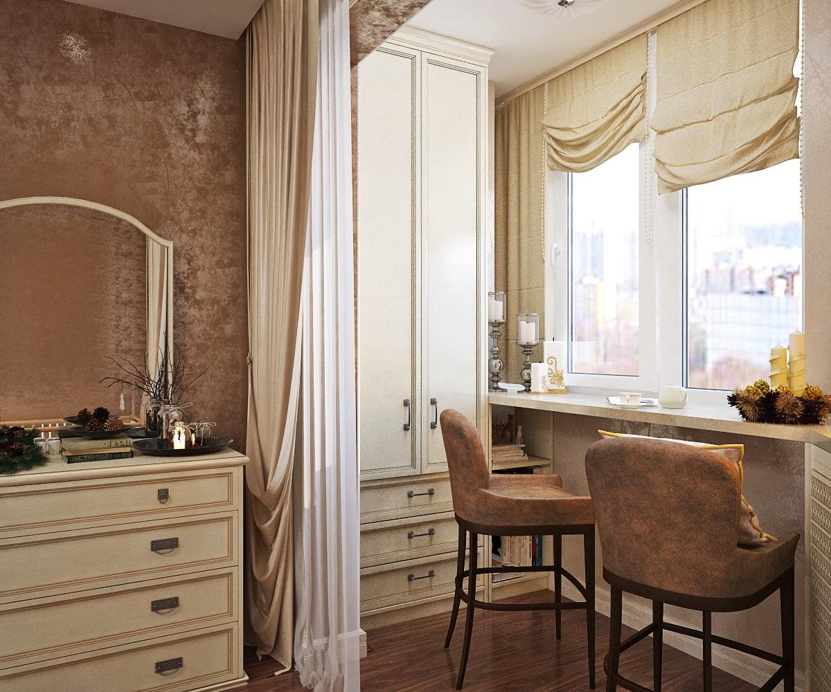 Дизайн комнаты с балконом: 9 шагов совмещения (+39 фото).