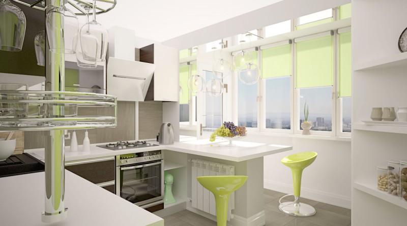 белая кухня