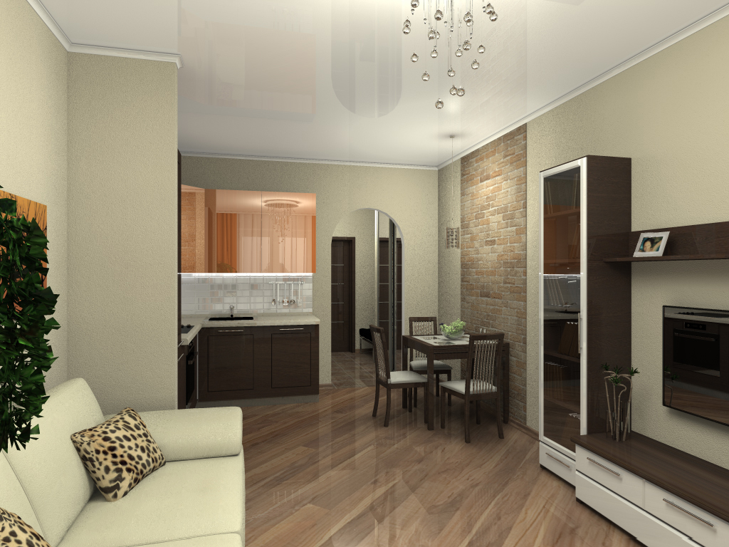 Дизайн зала 20 кв.м в квартире