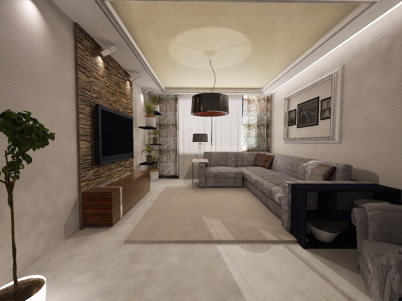 дизайн зала в квартире 20 кв. м фото