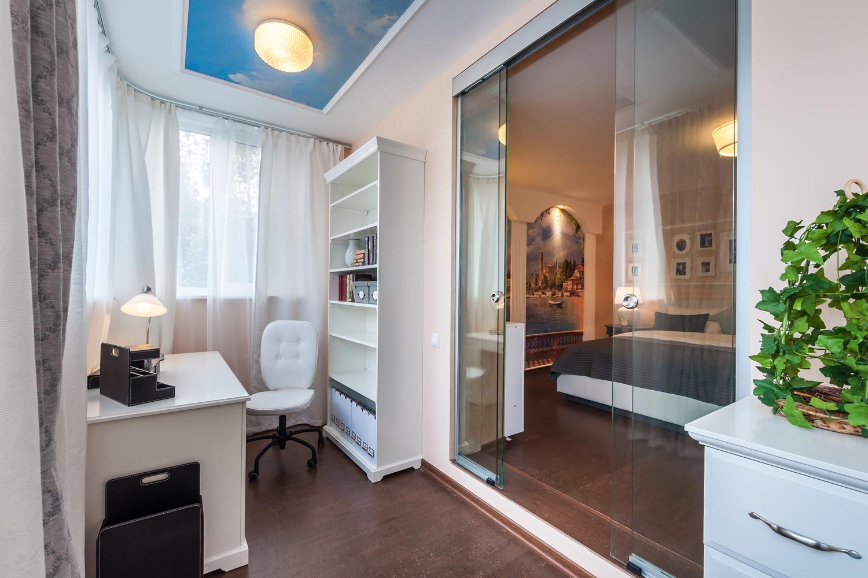 Дизайн гостиной и спальни в одной комнате: правильное зониро.