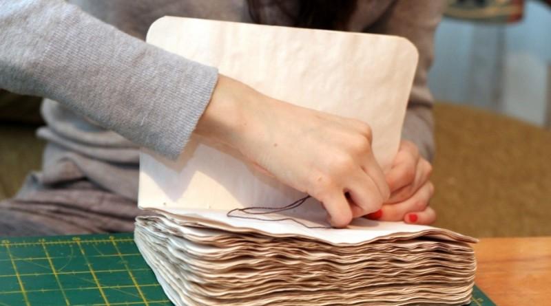 сшивание листов