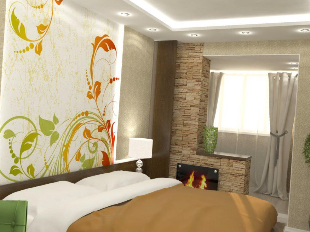 Дизайн комнаты с балконом: 4 варианта объединения + нюансы.