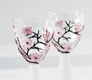 бокалы с росписью