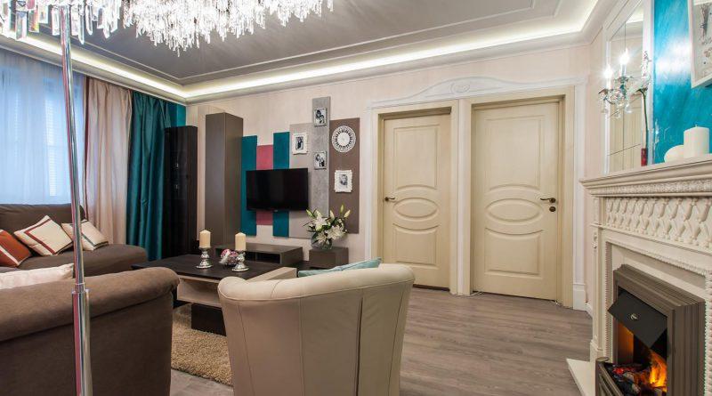 межкомнатные двери в интерьере квартиры фото стильных решений