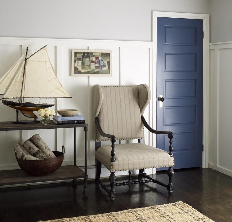 Межкомнатная дверь в средиземноморском стиле
