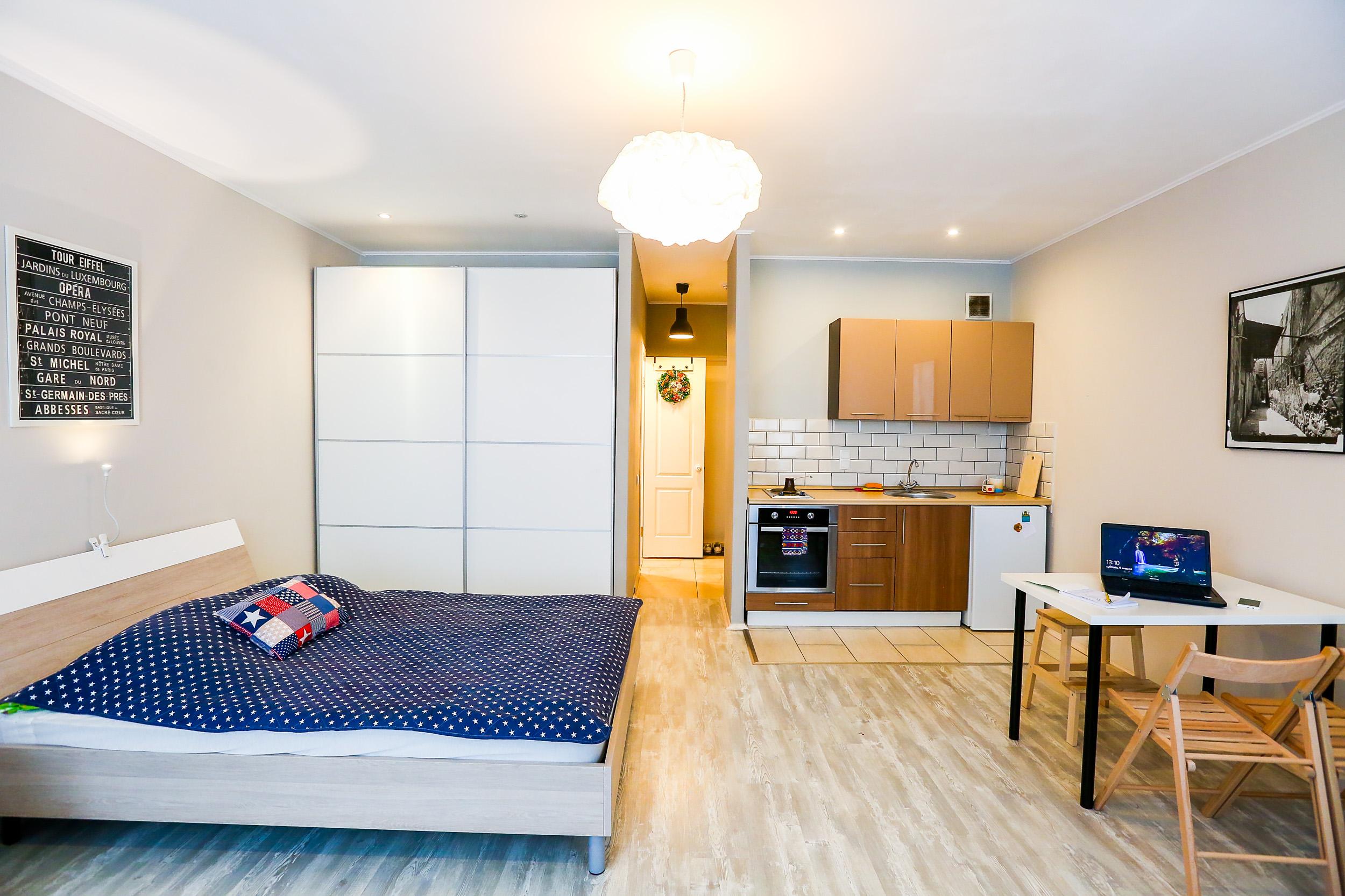 Дизайн квартир-студий 35 кв.м