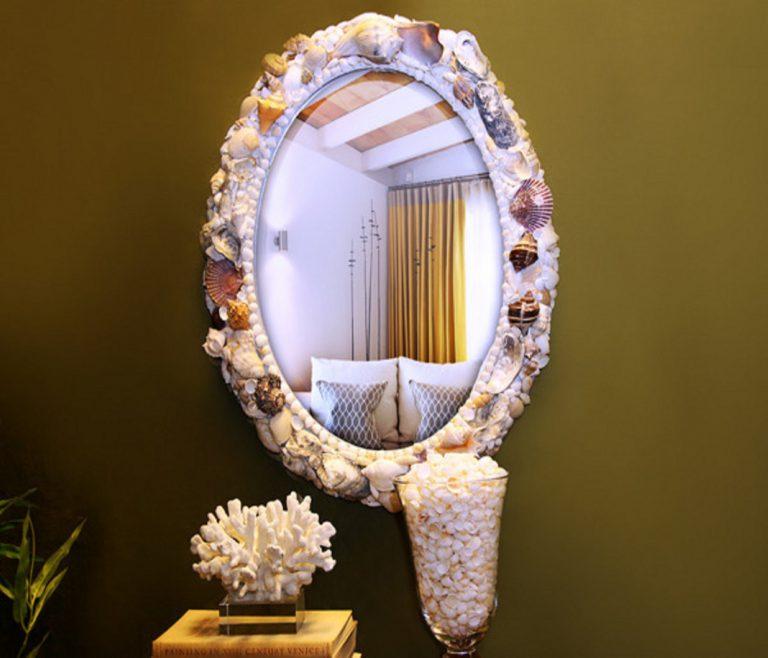 Мастер класс по украшению зеркала