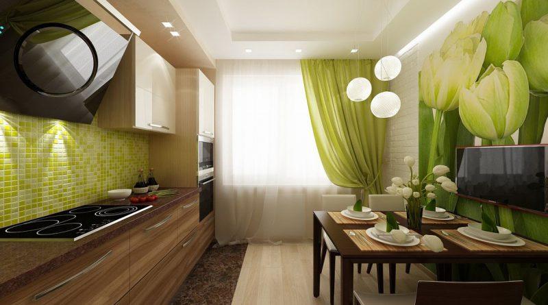 Разработка проектов по дизайну квартиры 34 кв. м (+45 фото)