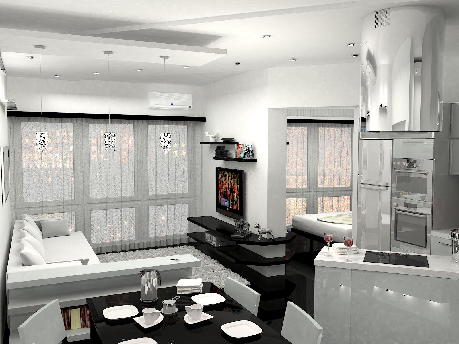Интерьеры двухкомнатной квартиры ип-46с - Фото - Делаем