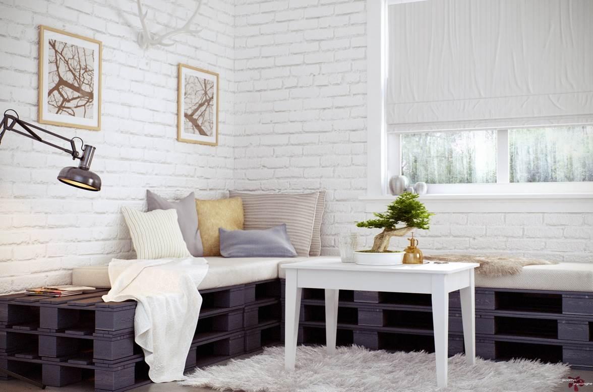 Оформление стен в квартире: 7 идей и 44 варианта