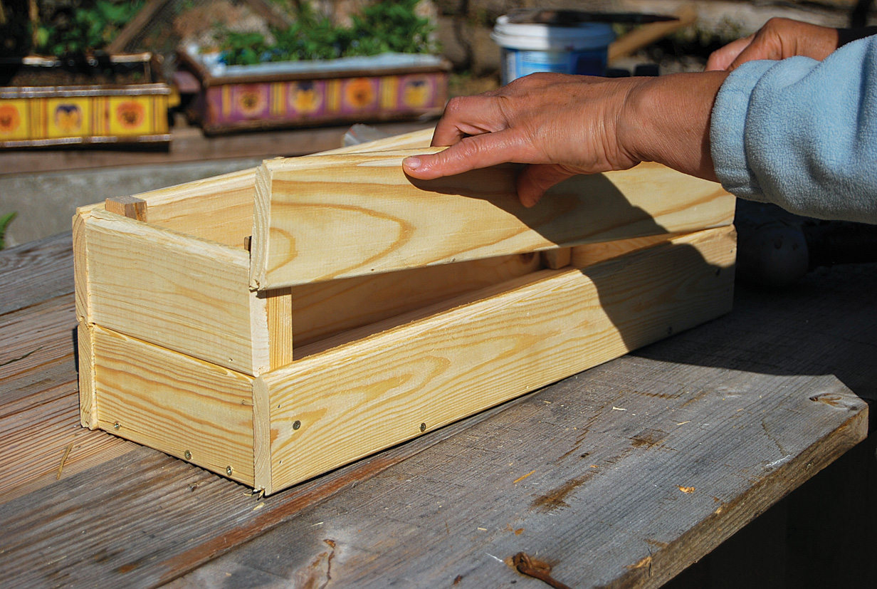 Деревянные ящички своими руками 44