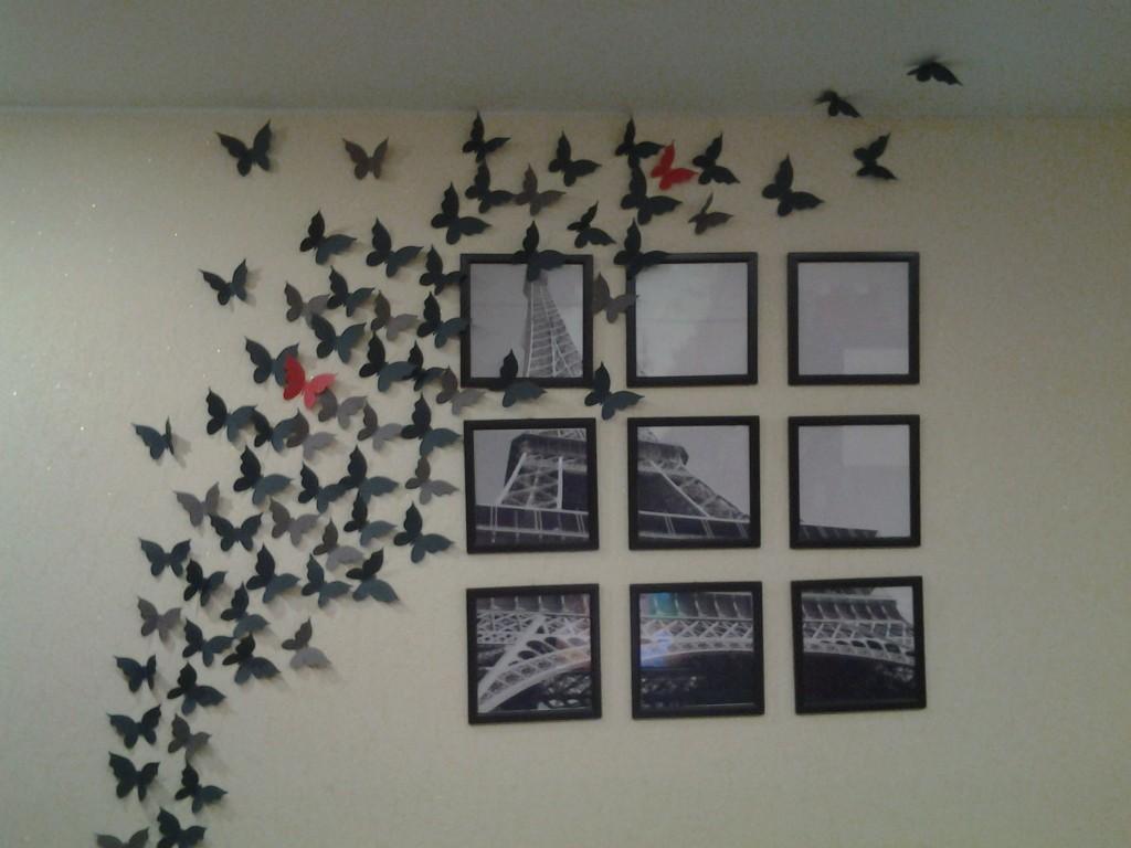 Фото на стене идеи для интерьера своими руками
