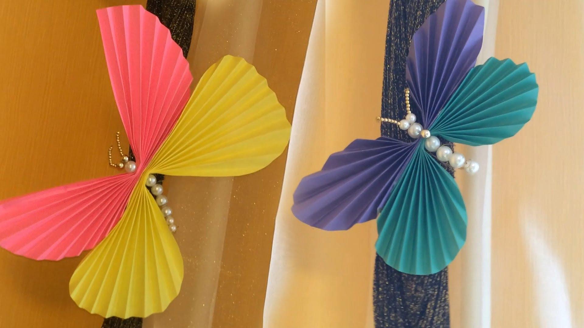 Поделка бабочки из бумаги