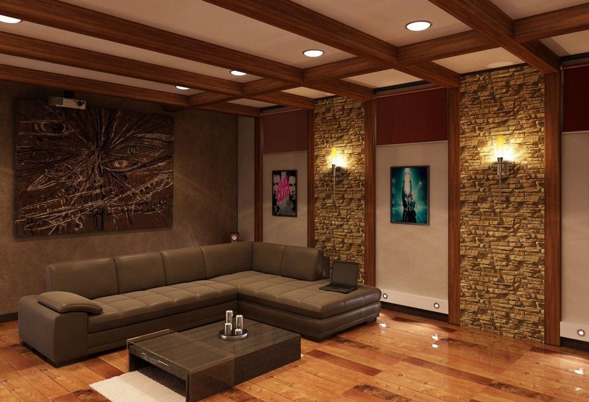 Фото дизайна гостиных под дерево
