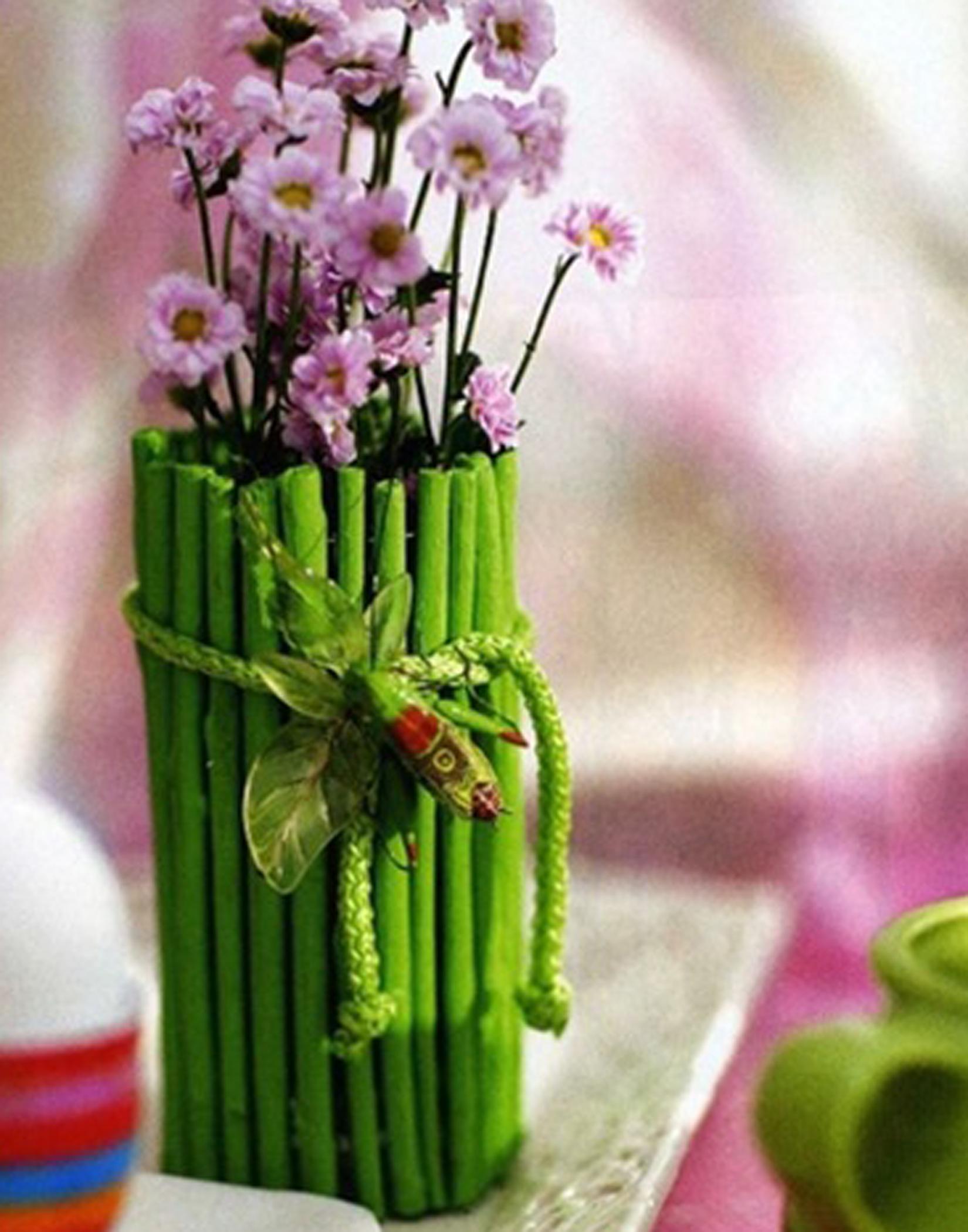 Декор дома своими руками цветы
