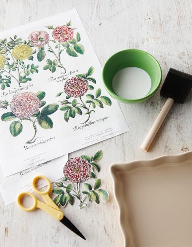 Как сделать декупаж картины из салфеток: пошаговая инструкция
