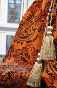 декоративные кисти на шторах