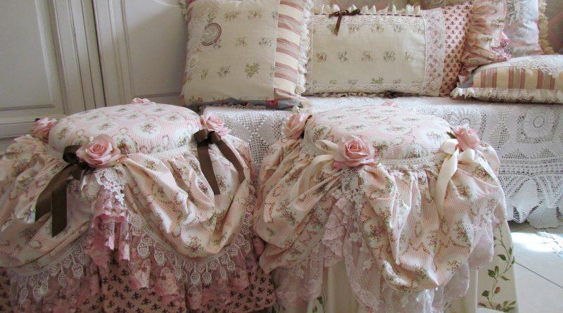 табурет и подушки