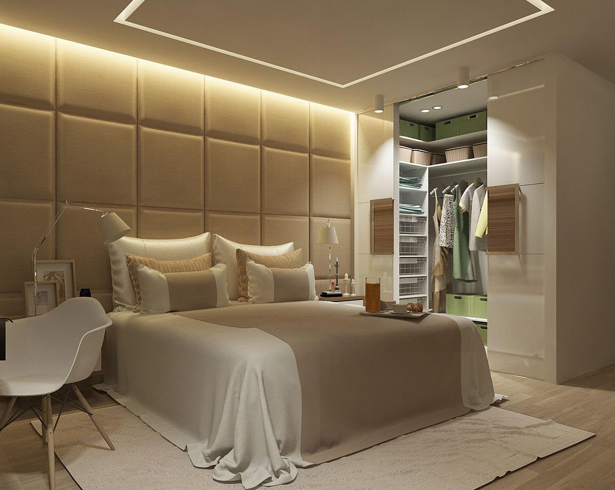 Гардеробные комнаты в спальне дизайн проекты фото