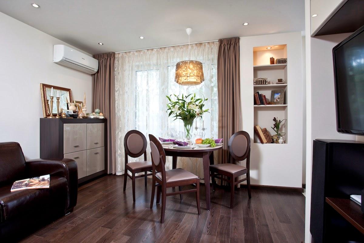 Дизайн 1 комнатной квартиры 33 квм для семьи с ребенком