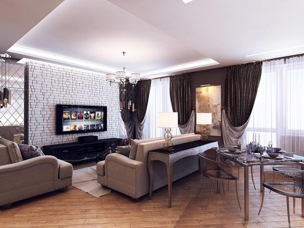Дизайн 1 комнатной квартиры 40 м кв
