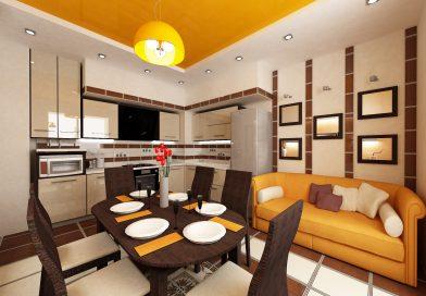 Правильное оформление 1-комнатной 30 кв м