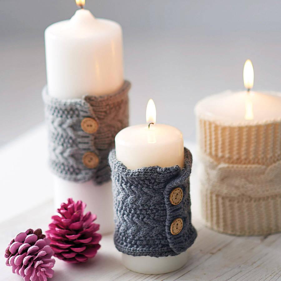 декорированные свечи