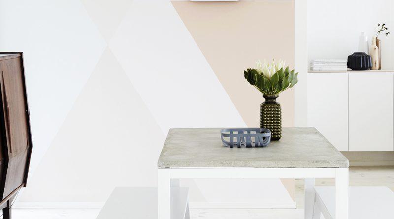 Сами с руками: оригинальные способы покраски стен (+48 фото)