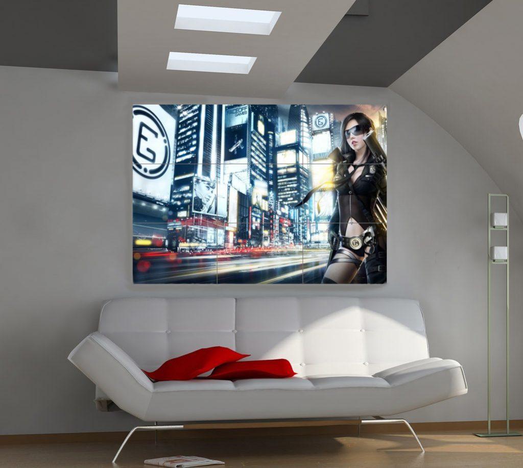 Как выбрать картины и постеры для современного интерьера (48 фото)